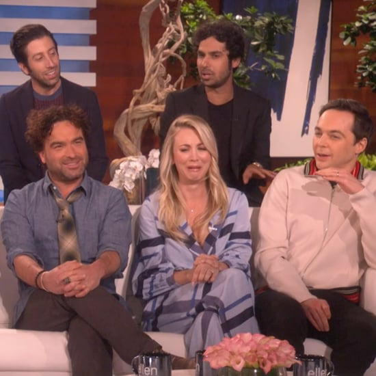 The Big Bang Theory Cast on the Ellen Show January 2019