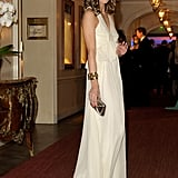 Olivia Palmero was the picture of elegance in a white Tibi gown at the Gala Spa Awards.