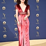 Sandra Oh at the 2018 Emmys