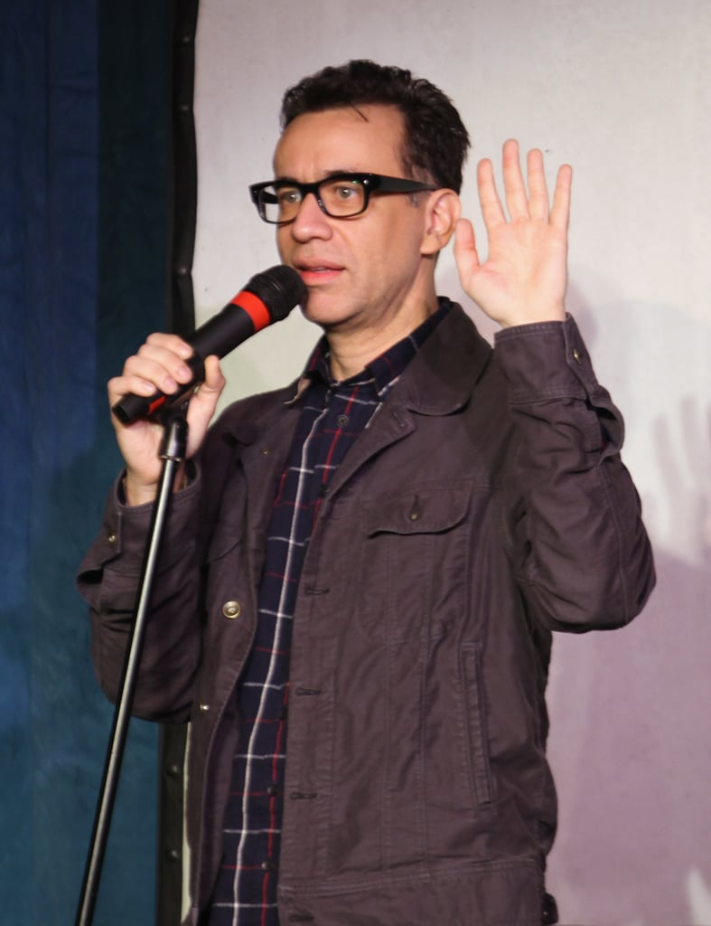 Fred Armisen hosted an event on Sunday.