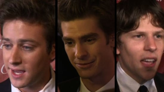 Video of Jesse Eisenberg, Andrew Garfield, Armie Hammer, and Josh Pence at the 2011 Palm Springs Film Festival