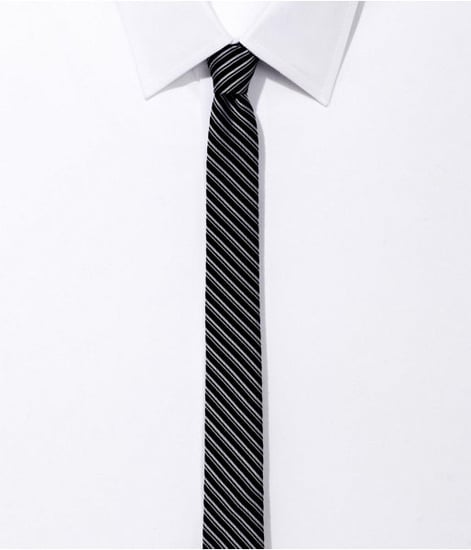 Super Skinny Silk Tie - Stripe
