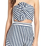 WAYF Durham Knotted Bow Tube Top