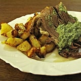 Stewed Beef With Frankfurt Green Sauce