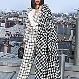 Cardi B at Paris Fashion Week in October