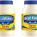 Hellman's and Best Foods