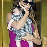 Victoria Beckham Brings Baby Harper to NYC For Her First Fashion Week
