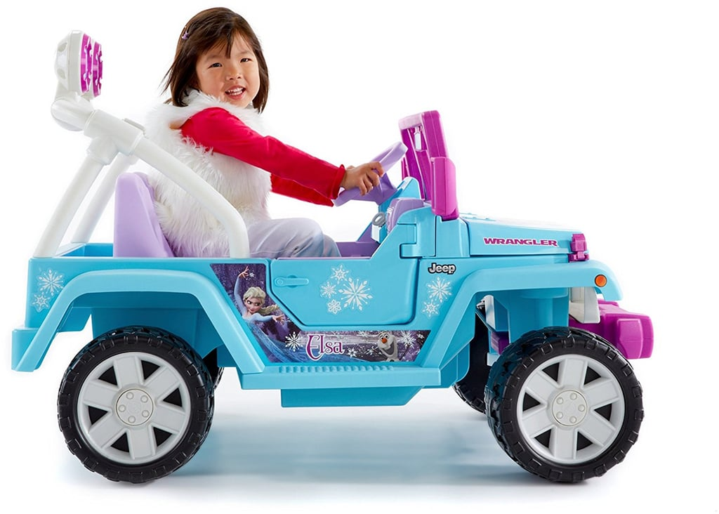 For 6-Year-Olds: Power Wheels Disney Frozen Jeep Wrangler