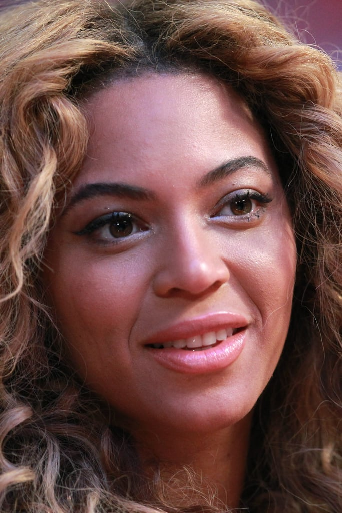 Beyoncé Knowles went to the NBA All-Star Game.