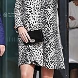 Kate Middleton wearing a Hobbs coat.