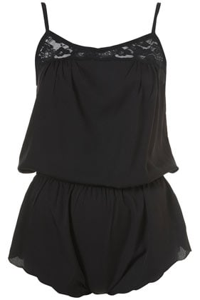Topshop Lace Inset Teddy ($65)