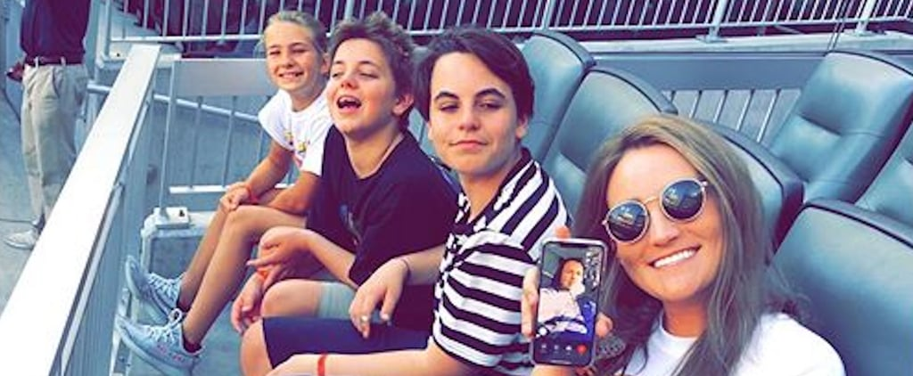 Jamie Lynn Spears's Instagram Photo With Britney's Sons 2019