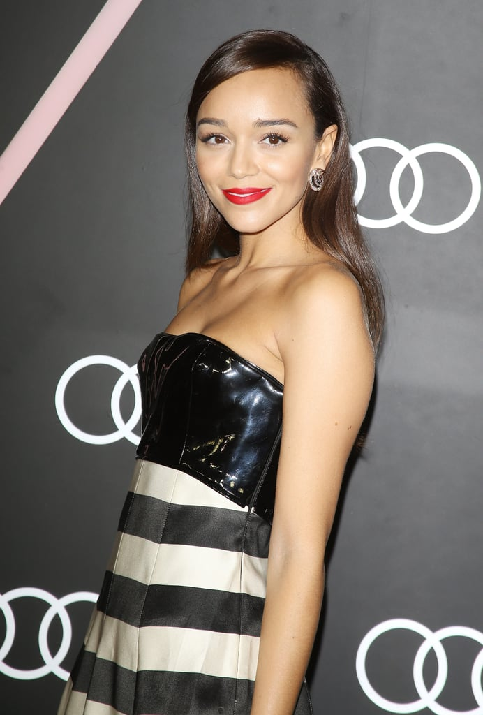 Former Revenge star Ashley Madekwe showed her stripes.