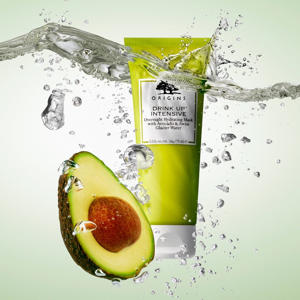 Origins Drink Up Intensive Overnight Hydrating Mask With Avocado and Swiss Glacier Water