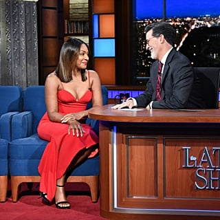 Tiffany Haddish on The Late Show With Stephen Colbert 2018