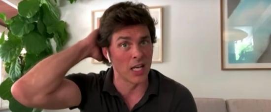James Marsden on How Julia Roberts Helped Him Book Hairspray