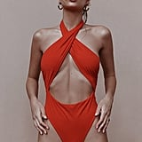 Emily's Exact Inamorata Beacon's One-Piece in Red