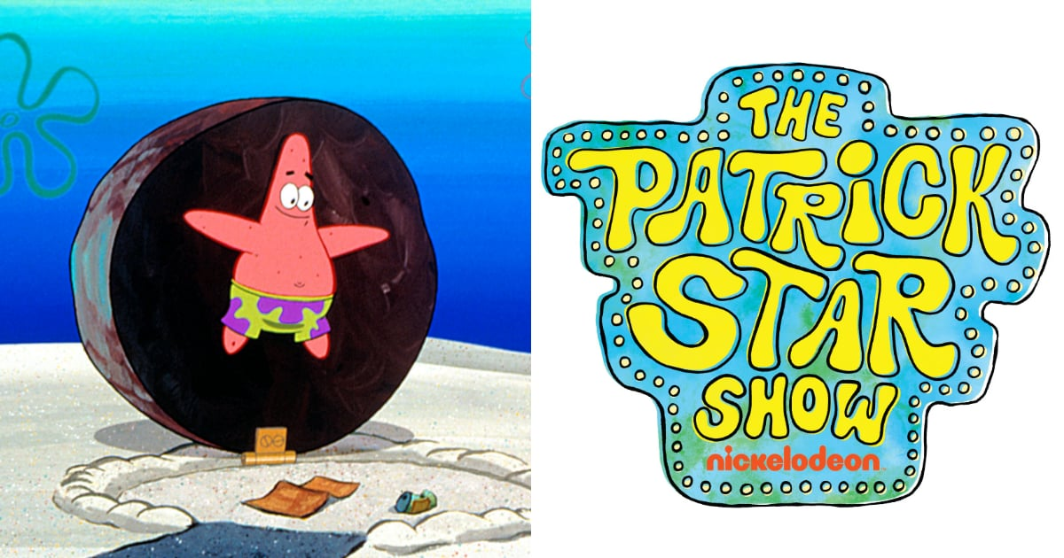 Spongebob's Patrick Star Is Getting His Own TV Show This Summer!.jpg