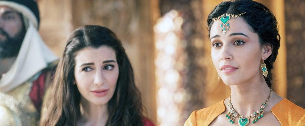 Who Plays the Handmaiden Dalia in the 2019 Aladdin Reboot?