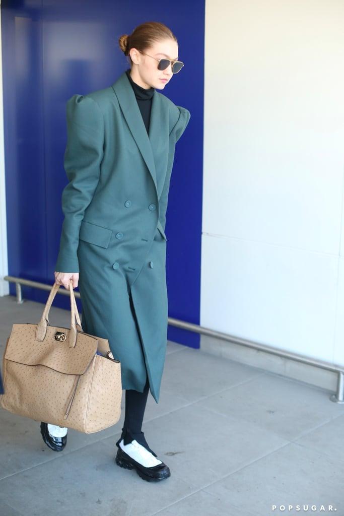 Gigi Hadid's Street Style at Milan Fashion Week