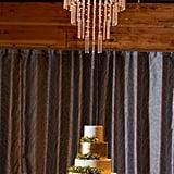 Glimmering Gold Cake