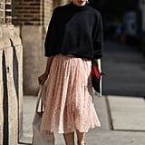 Wear Them on a Girlie Tulle Skirt