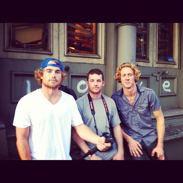 Hayden Quinn and his friends took NYC rather seriously. Source: Instagram user hayden_quinn