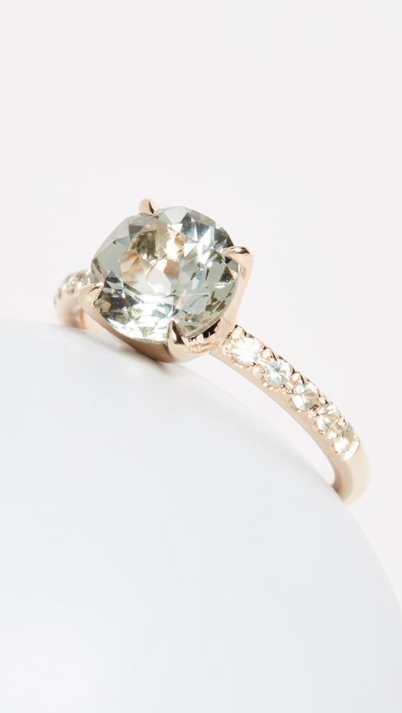 Jane Taylor 14k Solitaire Color Ring