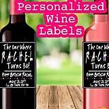 Friends-Themed Custom Wine Labels