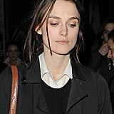 Keira Knightley stepped out in London with boyfriend James Righton.