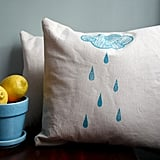 Rain Cloud Pillow ($28)