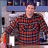 Then: Scott Patterson (Luke Danes)