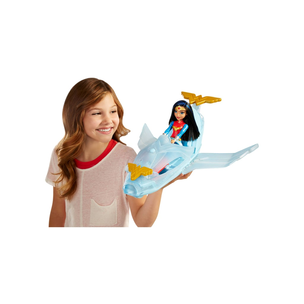 For 5-Year-Olds: DC Super Hero Girls Wonder Woman Action Doll and Invisible Jet