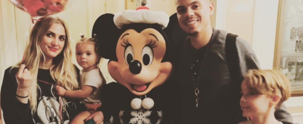 Ashlee Simpson Celebrates Her Son Bronx's Birthday at the Most Magical Place on Earth