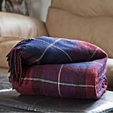 Classic Plaid Throw Blanket