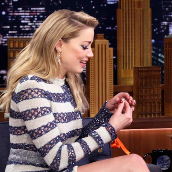 Amber Heard on The Tonight Show Starring Jimmy Fallon