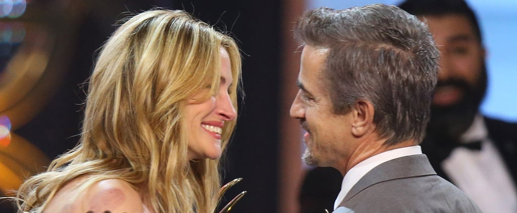 Julia Roberts Has a My Best Friend's Wedding Reunion With Dermot Mulroney