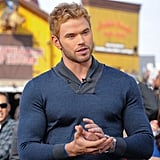 Kellan Lutz once wore this sweater, and it's probably still recovering from containing that much muscle.
