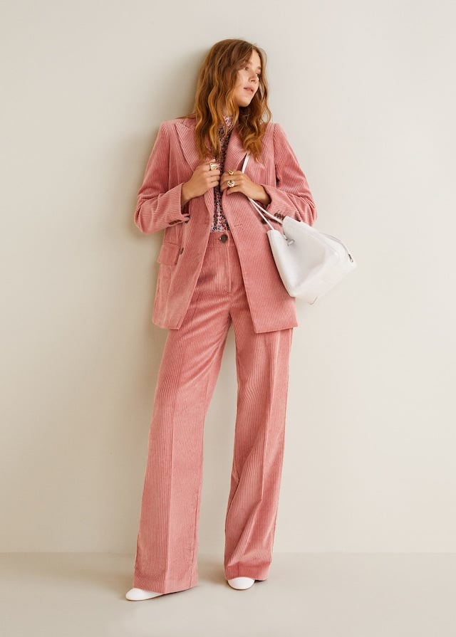 My Pick: Mango Corduroy Straight Trousers