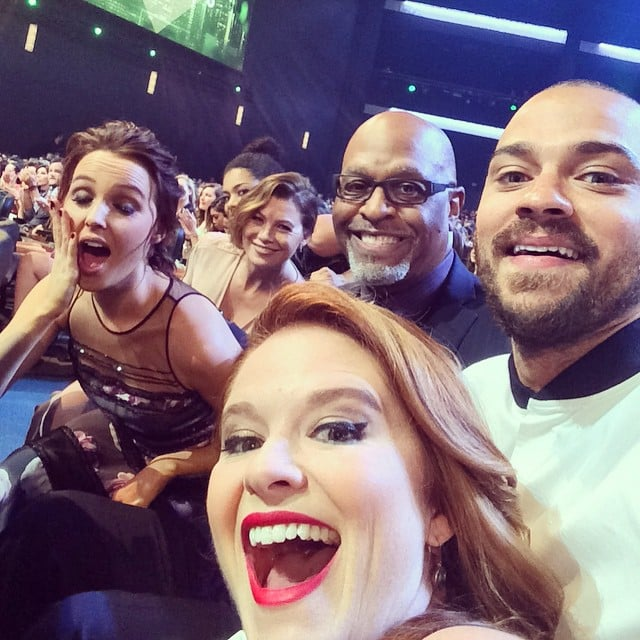 Greys Anatomy Cast At Peoples Choice Awards 2015 Popsugar