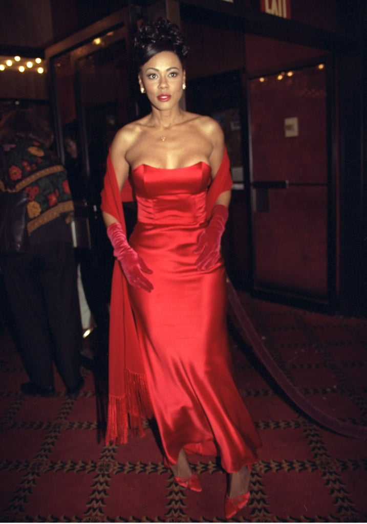 Actress Lela Rochon at the Waiting to Exhale NYC Premiere, 1995