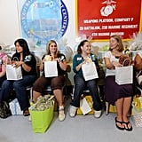 The AFB throws a Baby Shower