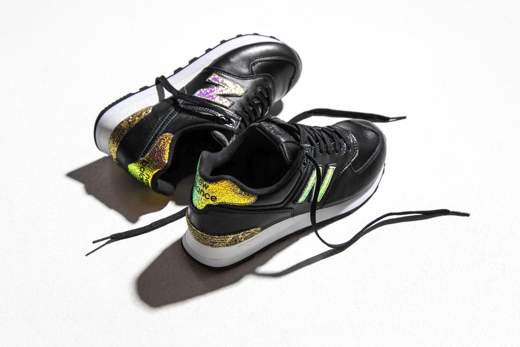 New Balance Metallic Glitter Sneakers   POPSUGAR Fashion