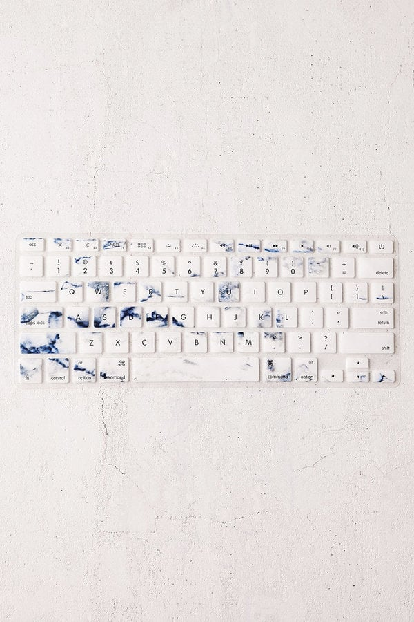 Urban Outfitters White Marble Keyboard Cover