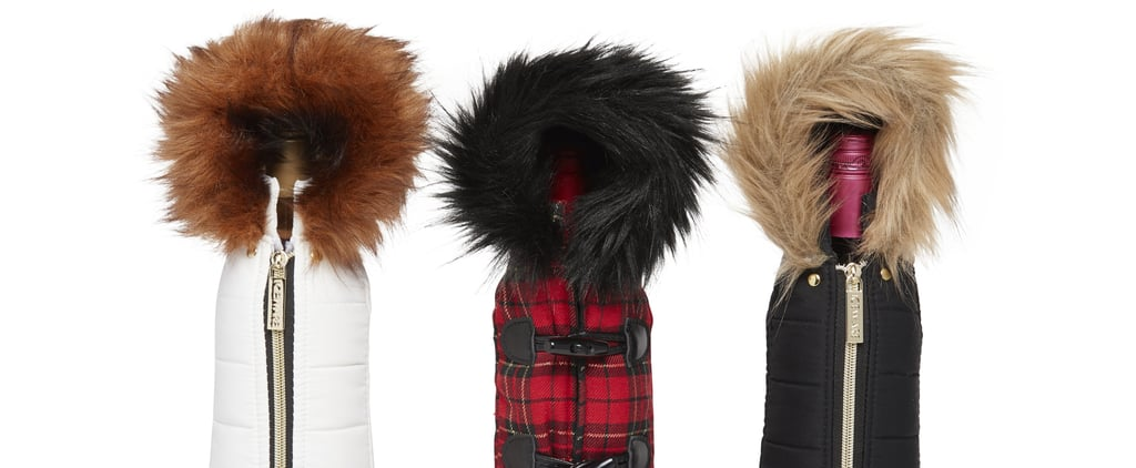 Wine Bottle Parkas at HomeGoods