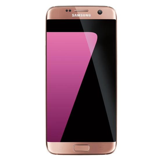 Pink Gold Galaxy S7 Phone