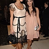 Kim Kardashian and Paris Hilton partied together in Beverly Hills back in June 2006.