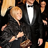 Bradley and his mother, Gloria, attended 2011's Costume Institute Gala at The Metropolitan Museum of Art in NYC.