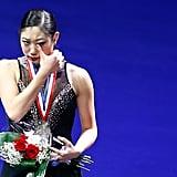 Mirai also held back tears.