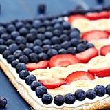 Fruity Flag Pizza